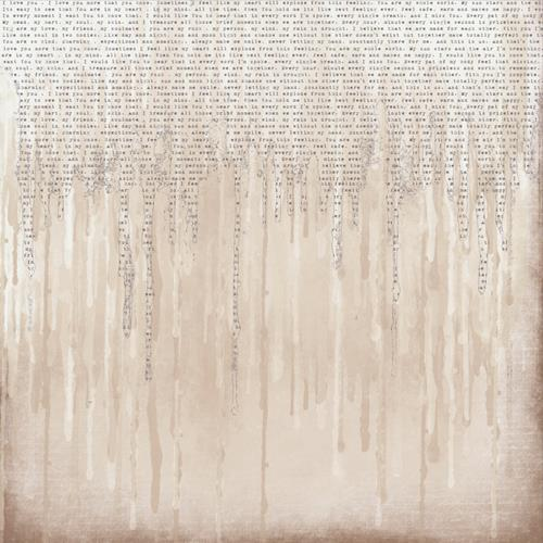 On the Wall - Dripping with words