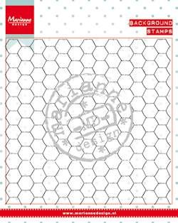 Background stamp - chickenwire