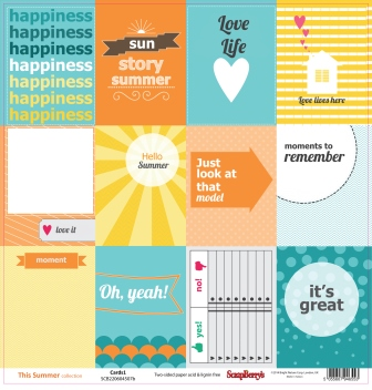 This Summer Collection - Cards 1