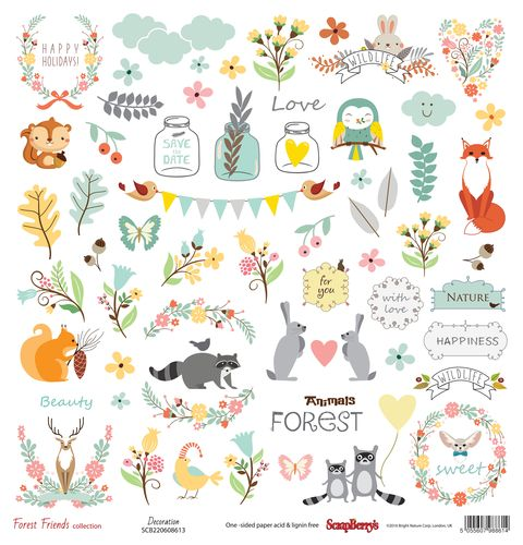 Forest Friends Collection - Decoration