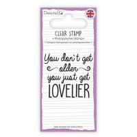 Clear stamp - Lovelier