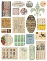 Paperwork Ephemera - Cardstock Stickers