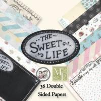 The Sweet life - sæt med papir og stickers