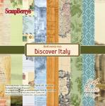 6 x 6 Paper Pad - Discover Italy