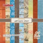 6 x 6 Paper Pad - Antique Shop